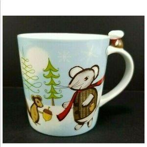Starbucks 2010 Huxley Mouse and Squirrel Mug